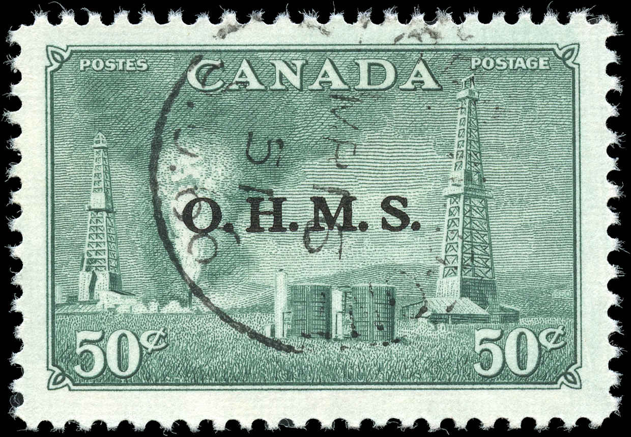 Canada #O11, Official Stamp, F-VF, Used