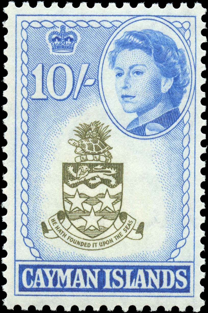 Cayman Islands, #166, F-VF, MH