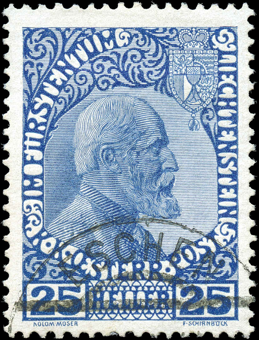 Liechtenstein, ###3, F-VF, Used