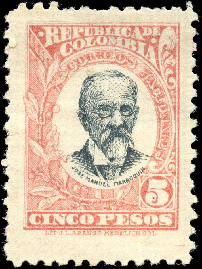 Columbia, #321, F-VF, MH