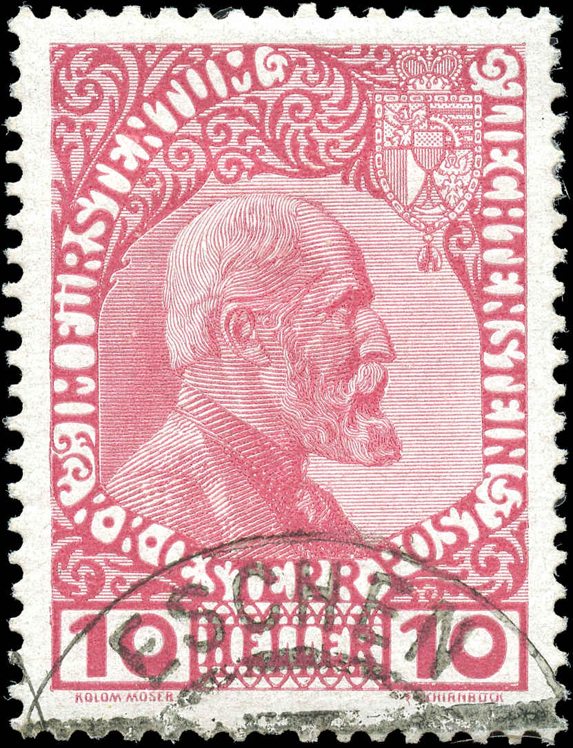 Liechtenstein, ###2, VF, Used