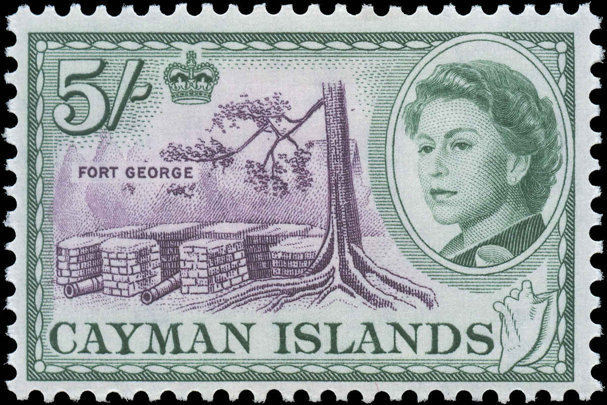 Cayman Islands, #165, F-VF, MH