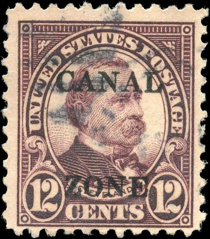USA - Canal Zone, ##76, F+, Used