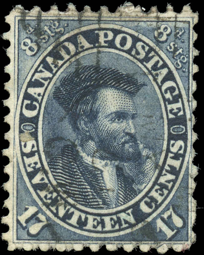 Canada ##19, First Cents Issue, F, Used