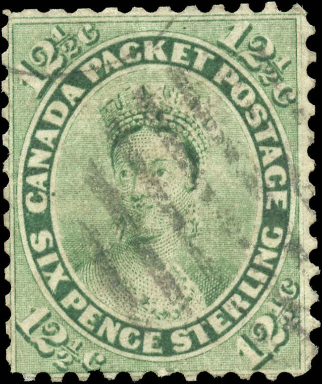Canada ##18, First Cents Issue, F, Used