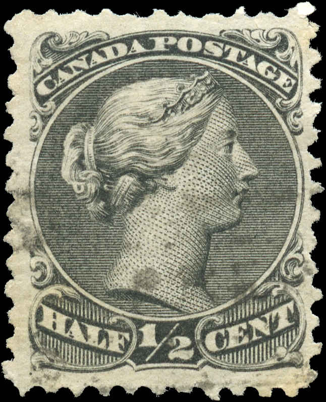 Canada ##21a, Large Queen Issue, F-VF, Used