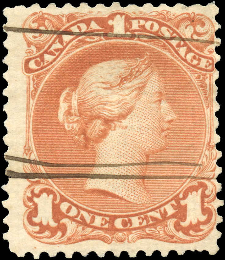 Canada ##22, Large Queen Issue, F, Used