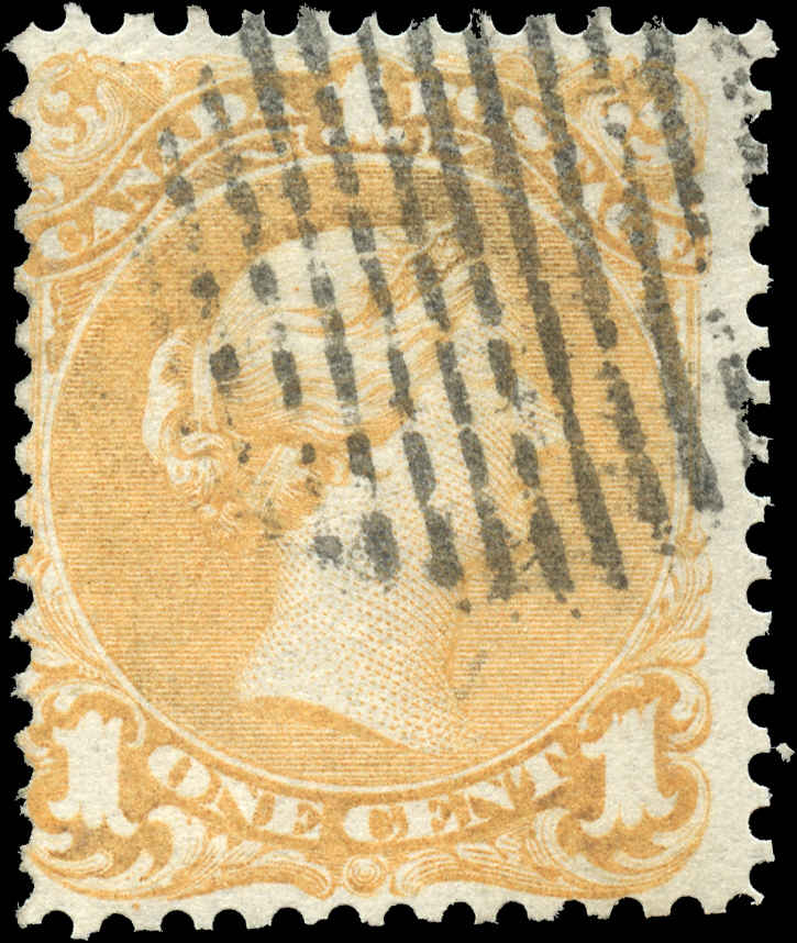 Canada ##23, Large Queen Issue, F, Used