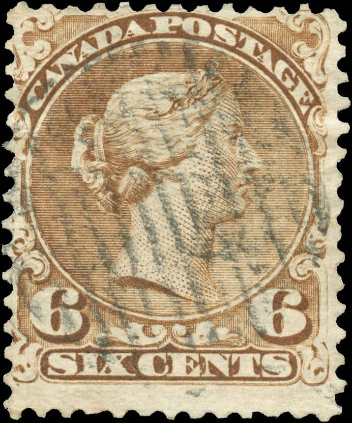 Canada ##27a, Large Queen Issue, F, Used
