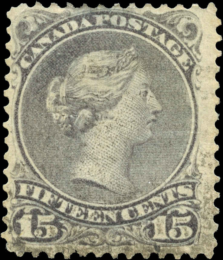 Canada ##30, Large Queen Issue, F, Used