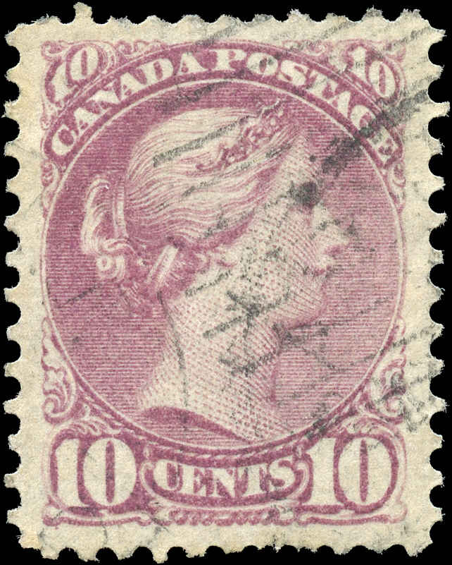 Canada ##40, Small Queen Issue, VF, Used