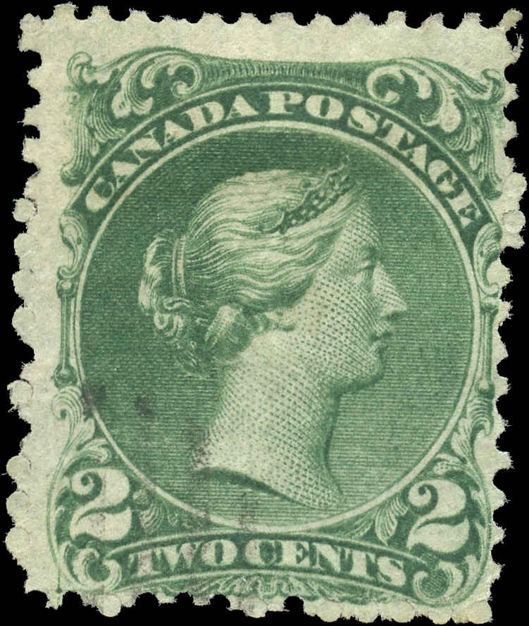 Canada ##24, Large Queen Issue, F, Used