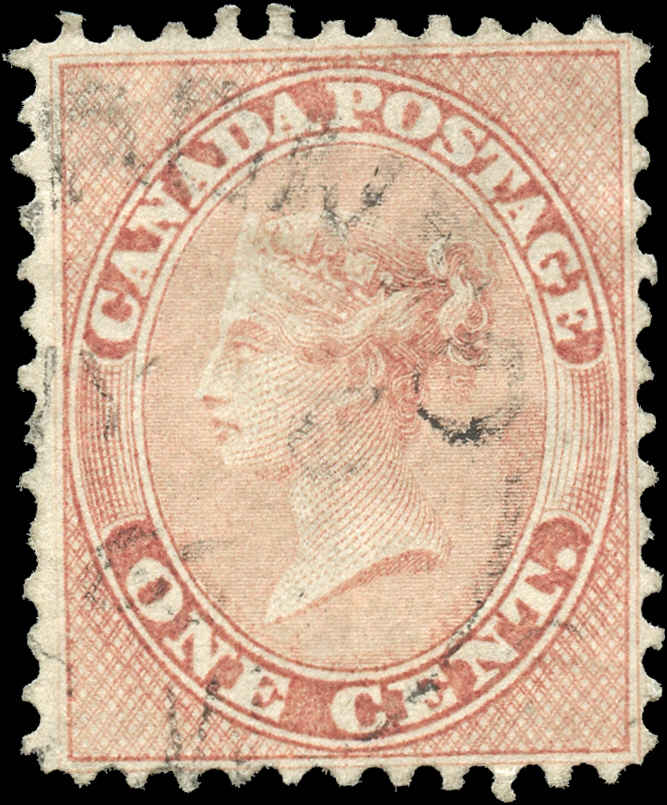 Canada ##14, First Cents Issue, F+, Used