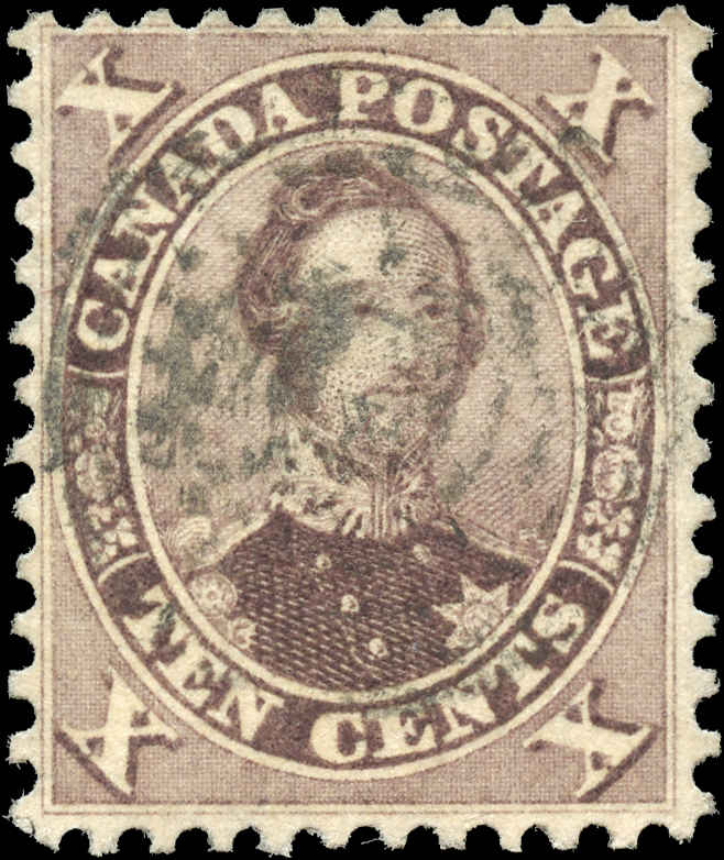 Canada ##17b, First Cents Issue, F-VF, Used