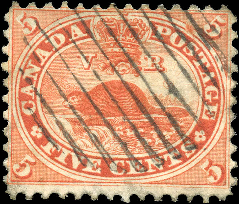 Canada ##15, First Cents Issue, F+, Used