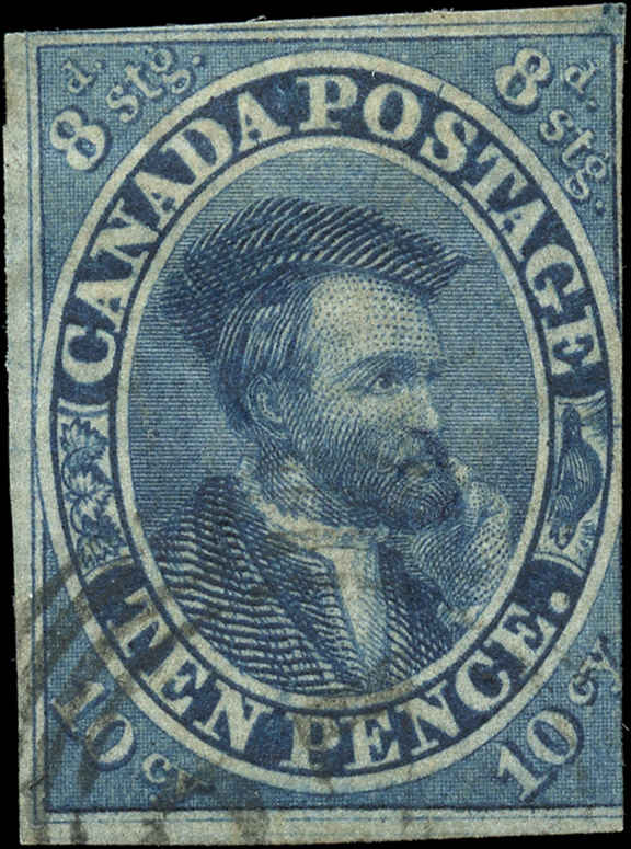 Canada ###7, Pence Stamp, F, Used