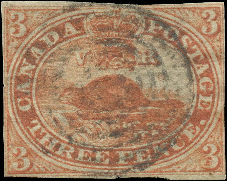 Canada ###4, Pence Issue, F+, Used