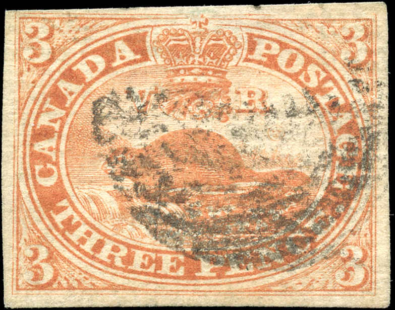 Canada ###4, Pence Issue, F-VF, Used
