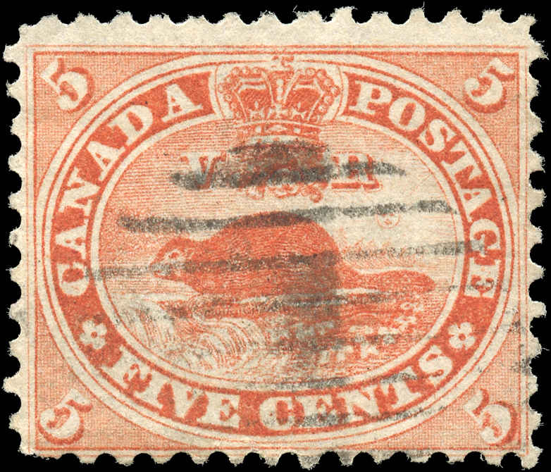 Canada ##15, First Cents Issue, F, Used