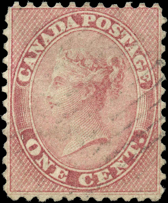 Canada ##14viii, First Cents Issue, F+, Used