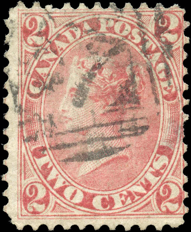 Canada ##20v, First Cents Issue, F, Used