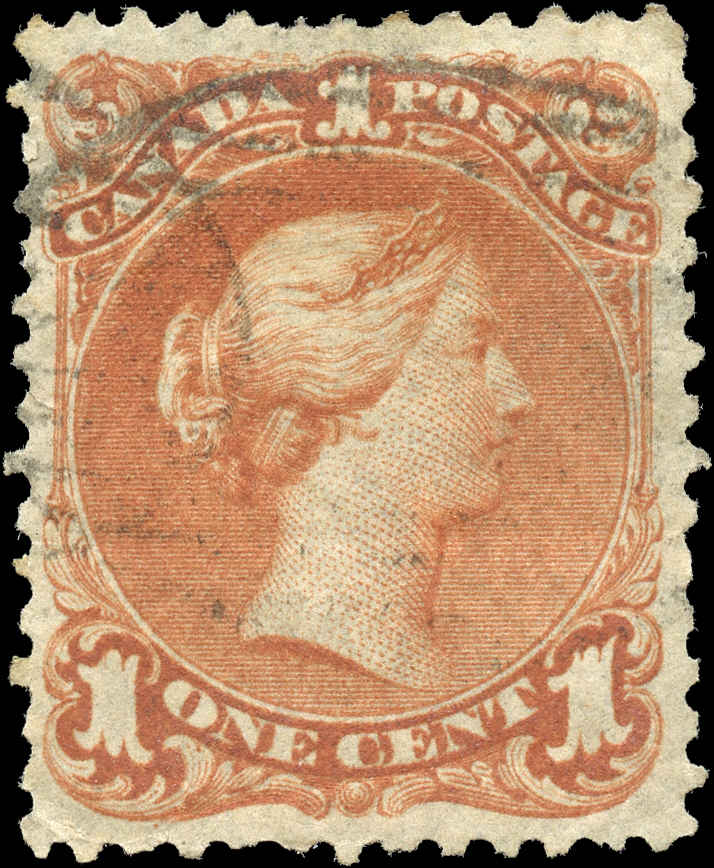 Canada ##22, Large Queen Issue, F-VF, Used