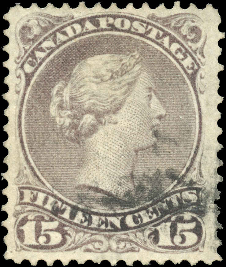 Canada ##29, Large Queen Issue, F-VF, Used