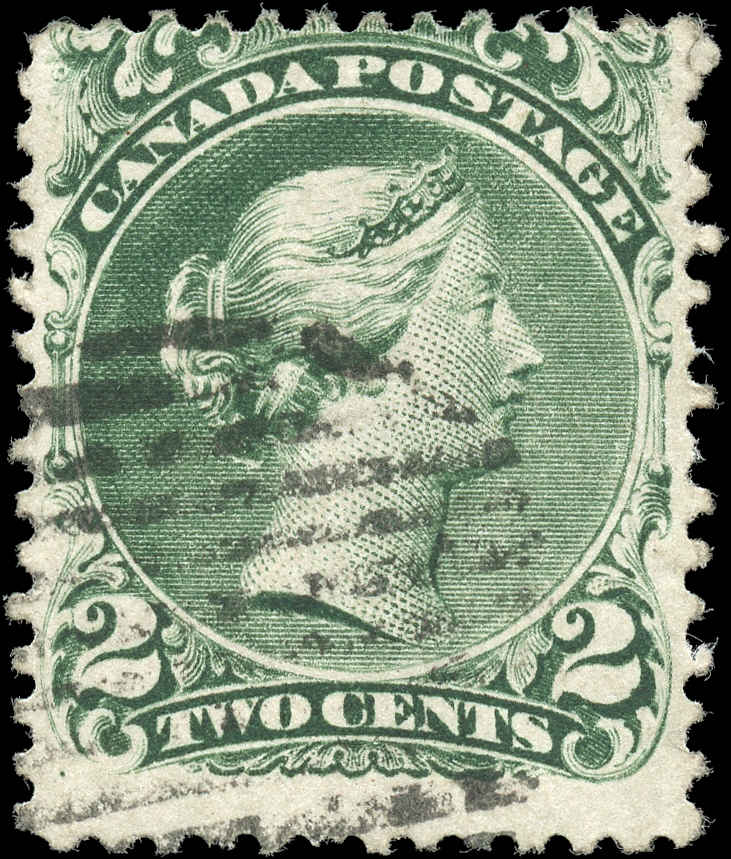Canada ##24, Large Queen Issue, VG-F, Used