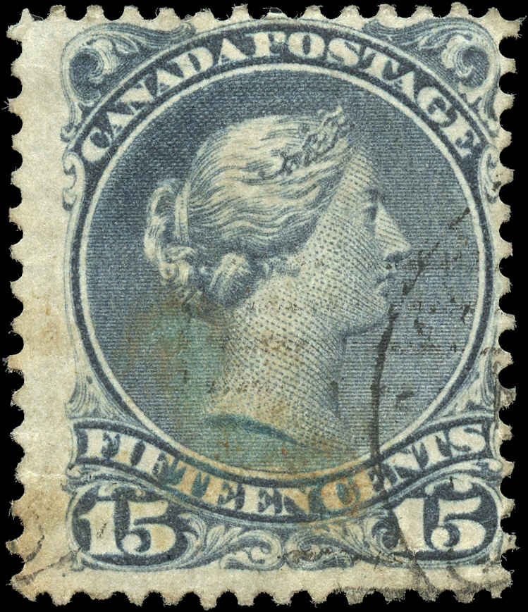 Canada ##30e, Large Queen Issue, F, Used