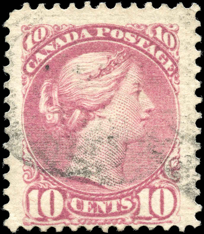Canada ##40a, Small Queen Issue, F, Used