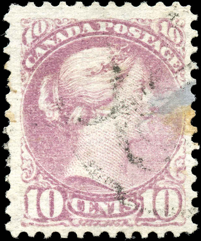 Canada ##40, Small Queen Issue, F+, Used