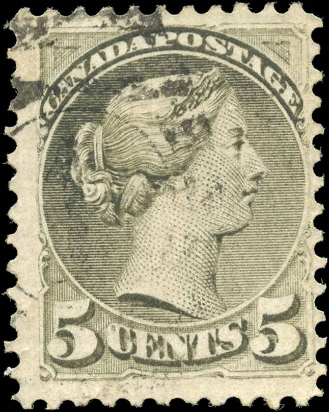 Canada ##38, Small Queen Issue, F, Used