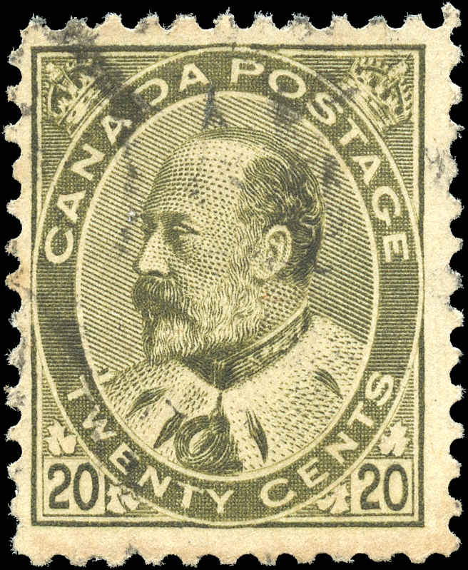 Canada ##94, King Edward VII Issue, F+, Used