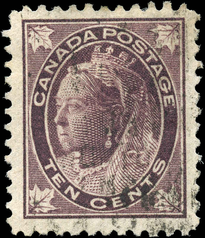Canada ##73, Maple Leaf Issue, F-VF, Used