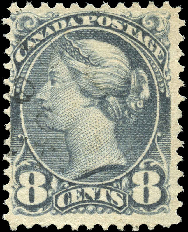Canada ##44b, Small Queen Issue, F, Used