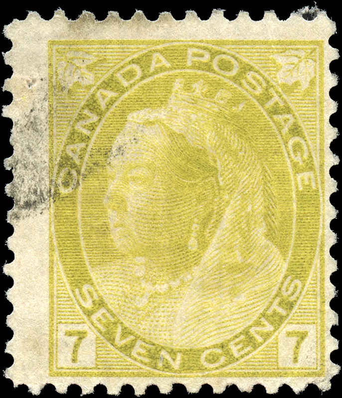 Canada ##81, Numeral Issue, F, Used
