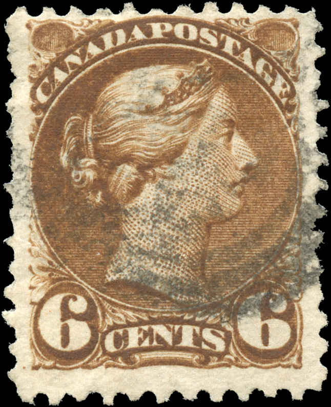 Canada ##43a, Small Queen Issue, F+, Used