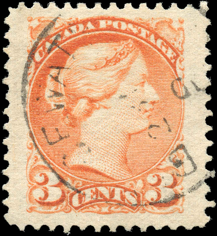 Canada ##37, Small Queen Issue, VF, Used