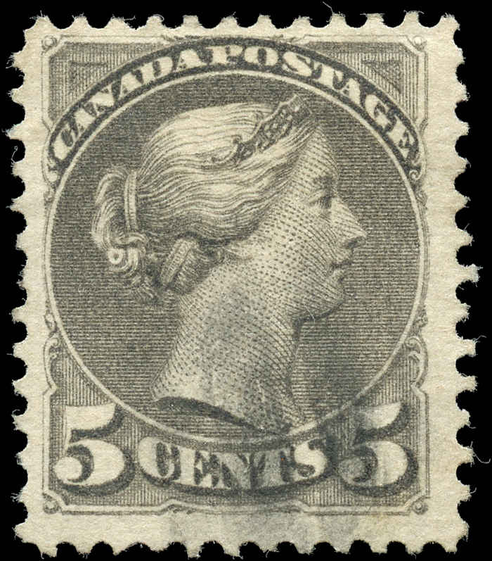 Canada ##42, Small Queen Issue, F+, Used