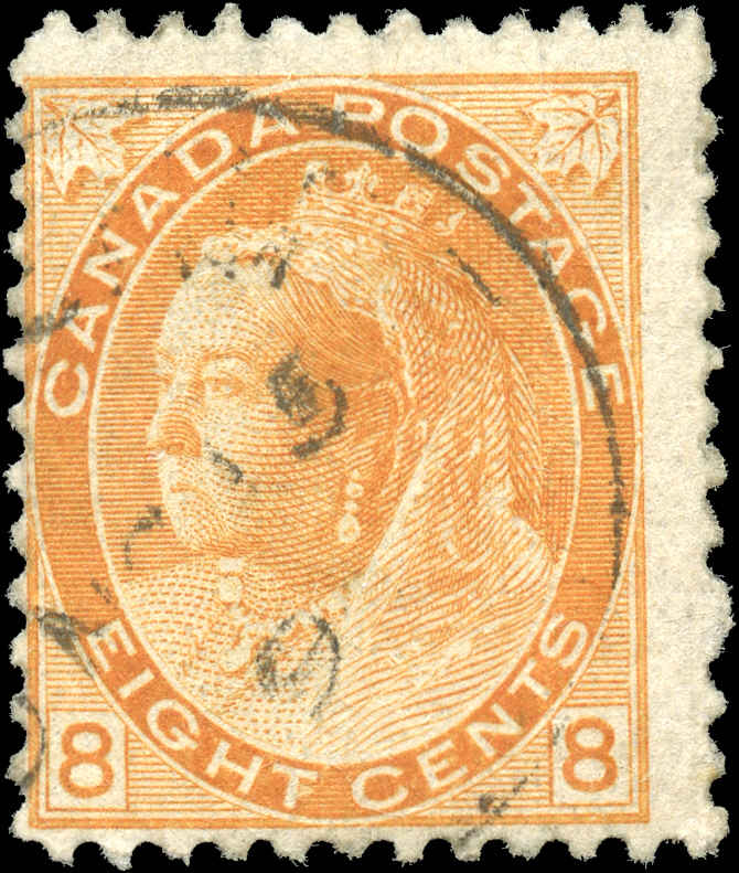 Canada ##82, Numeral Issue, F, Used