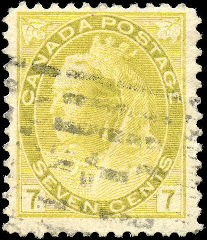 Canada ##81, Numeral Issue, F+, Used