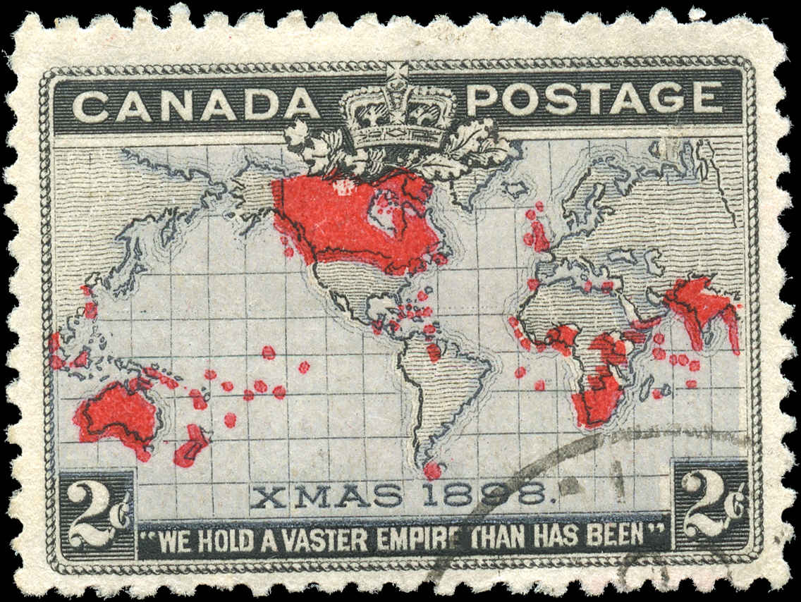 Canada ##85, Map Issue, F+, Used