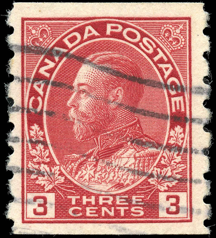 Canada #130, Admiral Issue, F-VF, Used
