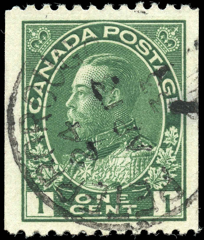 Canada #131, Admiral Issue, F-VF, Used