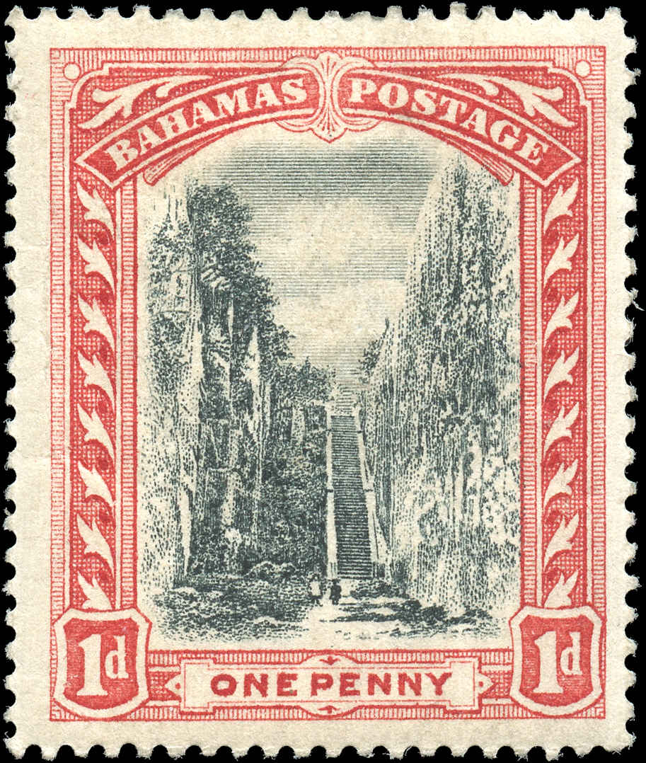 Bahamas Stamp, Scott ##33, F+, MH