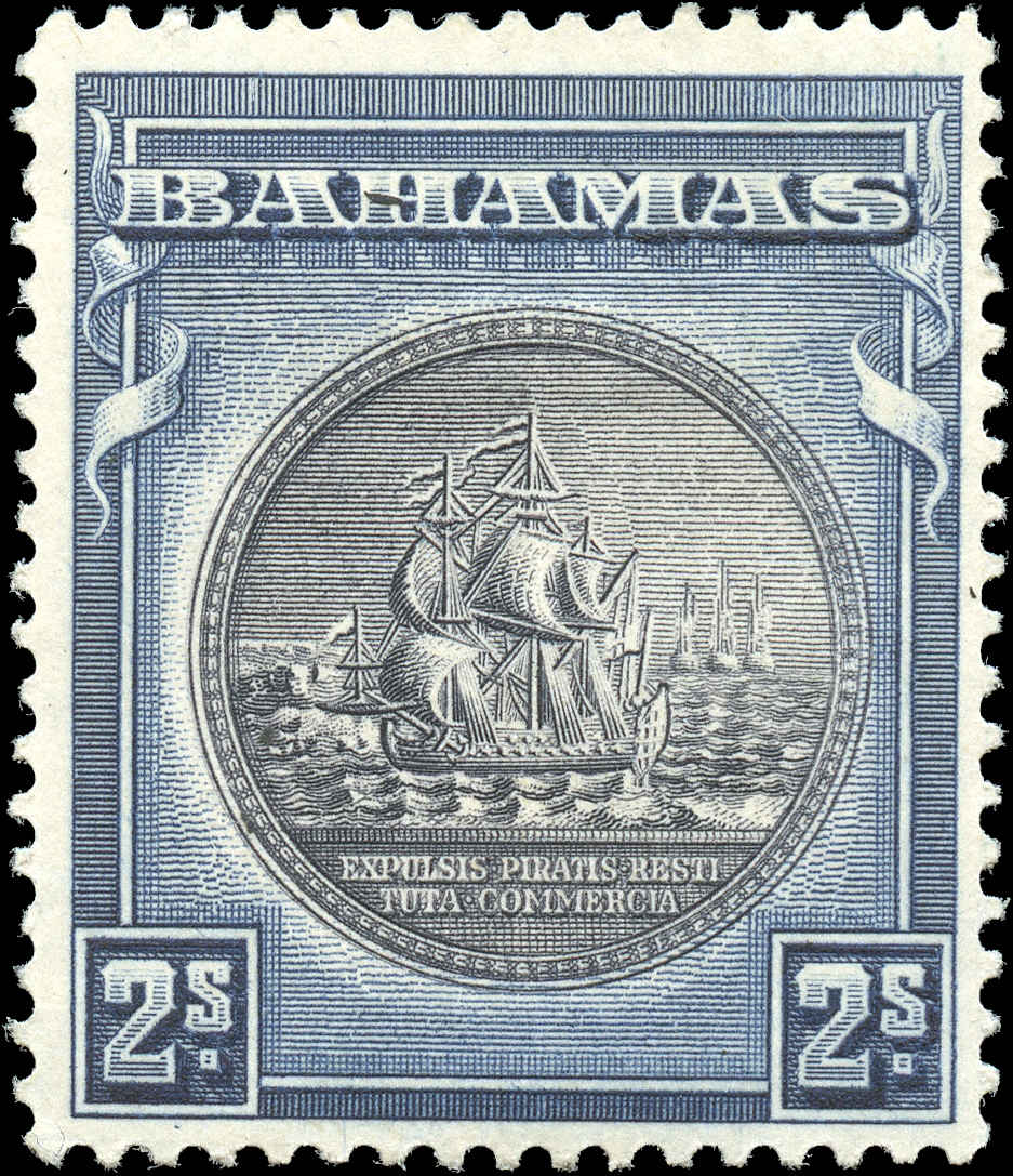Bahamas Stamp, Scott ##90, F+, MH