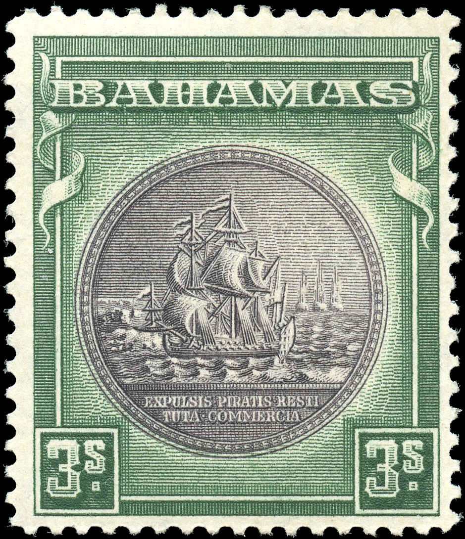 Bahamas Stamp, Scott ##91, F+, MH