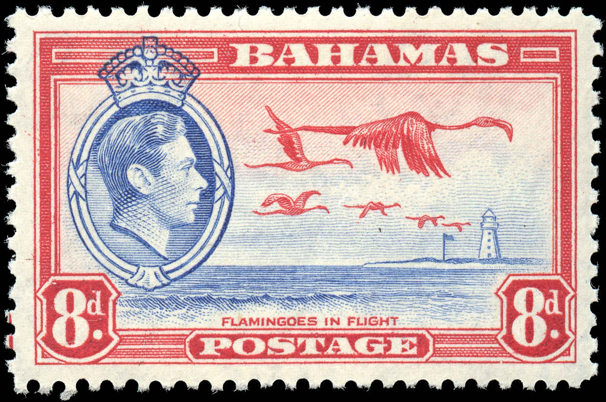 Bahamas Stamp, Scott #108, VF, MH