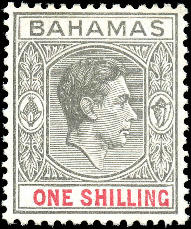 Bahamas Stamp, Scott #110, F+, MH