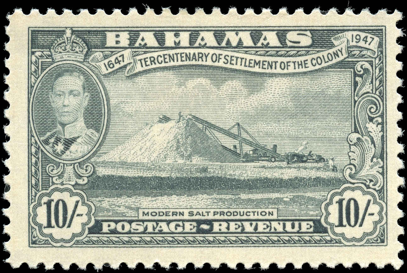Bahamas Stamp, Scott #146, F+, MH